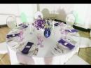 Вариант оформления гостевого стола от студии флористики и декора Very Nice