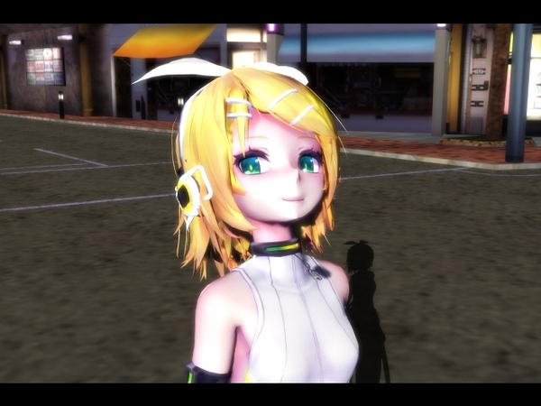 Ghost Rule Feat: Kagamine Rin【MMD】