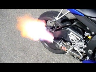 2008 Yamaha R6 with Yoshimura R-55 Full System with baffle removed sound clip