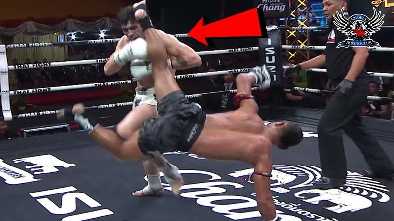 Saenchai Thai Vs Jamal Madani Iran Thai Fight Highlights 2018 HD