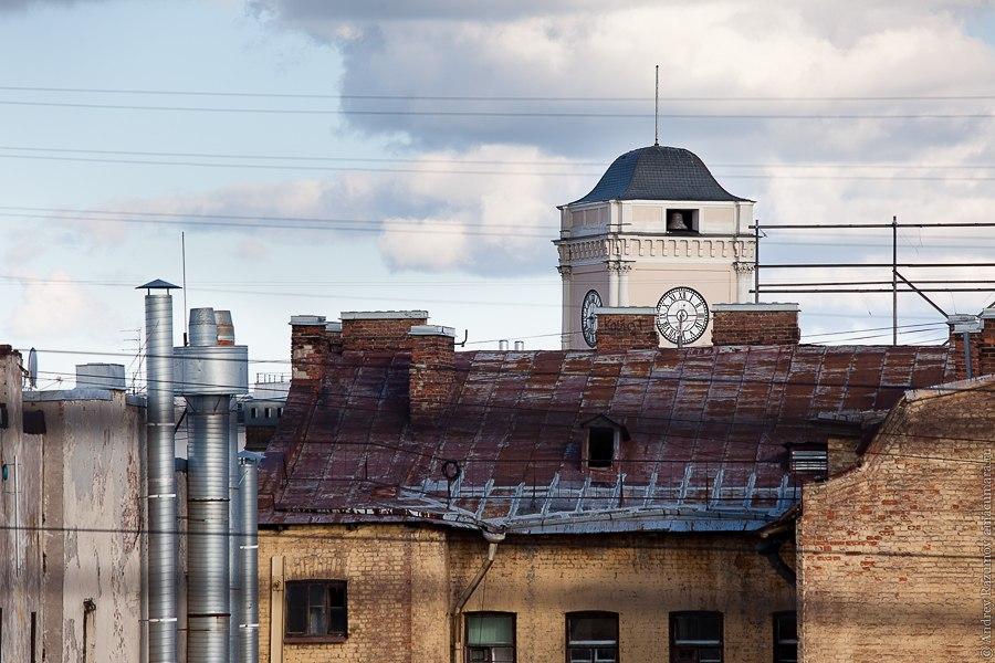 Прогулки по крыше в Санкт-Петербурге Московский вокзал