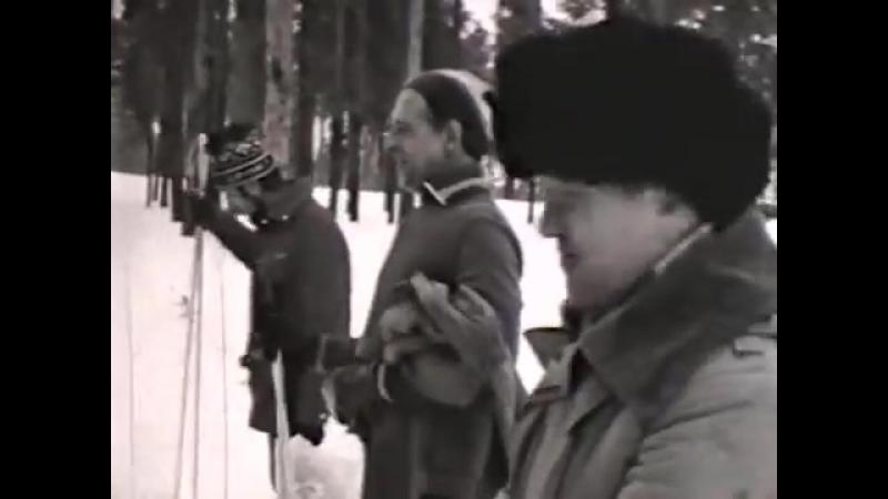 Лыжные соревнования КПГЭС. Автор - Вячеслав Смоленский
