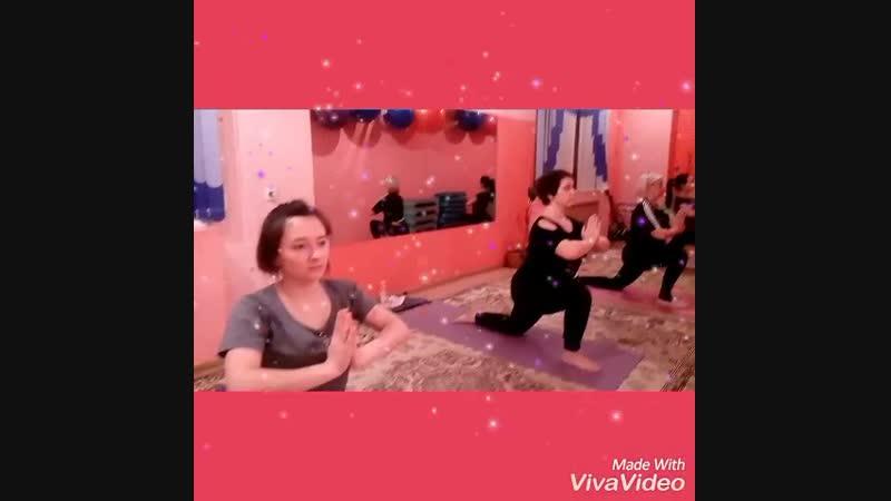 XiaoYing_Video_1542735112817 При занятии йогой вы оздоравливаете свой организм