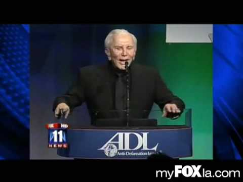 2009-12-09 - Fox 11 Spielberg Honored at ADL with short clip of Adam Singing Star Spangled Banner