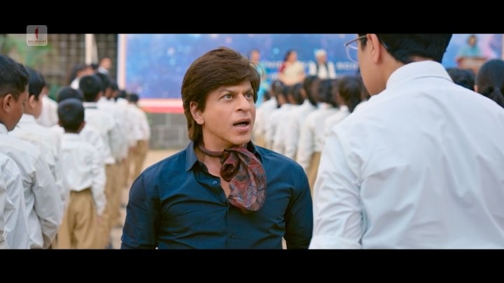"Shah Rukh Khan on Instagram: ""Launda na samajhna, beta baap hain tumhare! 1WeekToZero @anushkasharma @KatrinaKaif @aanandlrai @mohdzeeshanayyub ..."