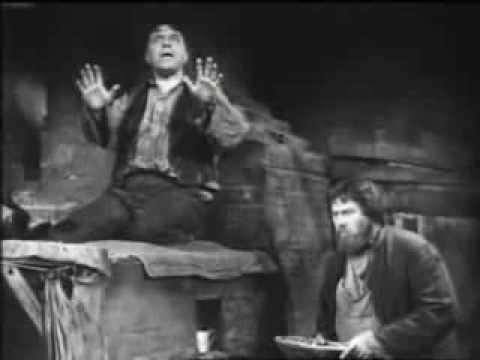 На дне. Максим Горький. МХАТ им. М. Горького,1952 год