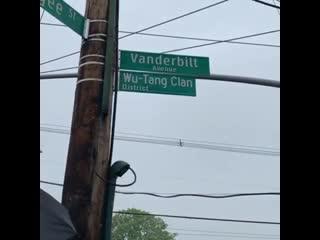 Открытие  имени wu-tang clan в нью-йорке [рифмы и панчи]