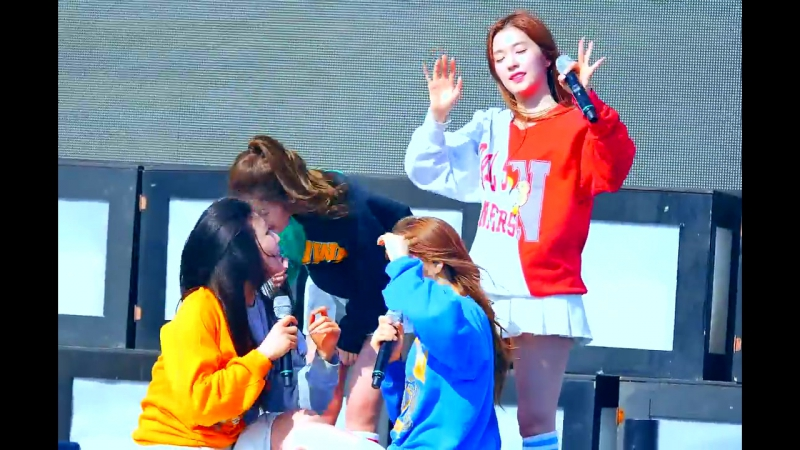 150516 Red Velvet – Happiness @ Pyeongchang Winter Olympic G-1000 Event Fancam