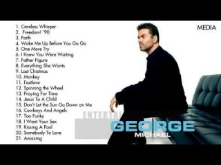 George Michael's Greatest Hits | Best Songs Of George Michael [Full Album]