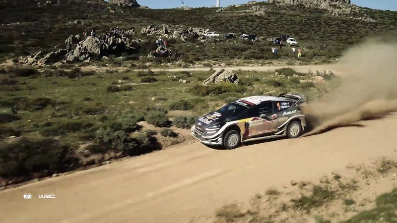 WRC Rally Italia Sardegna 2018 M Sport Ford WRT Best of Aerial