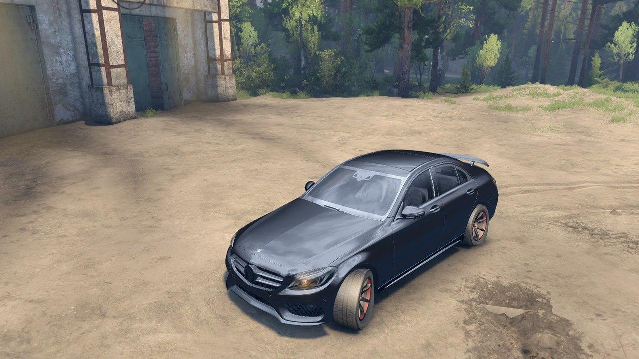 Mercedes Benz C250 Brabus для Spintires - Скриншот 2