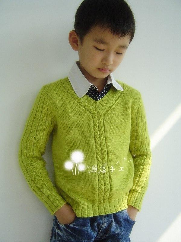 Вязание свитер на мальчика 2 года