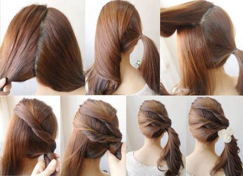 Фото-уроки по причёскам