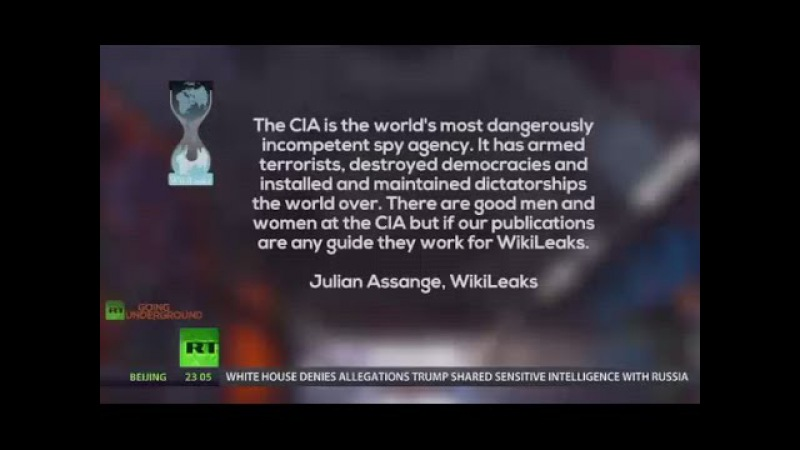 Assange: CIA is the world's most dangerously incompetent spy agency