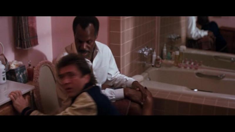 Смертельное Оружие 2 1989 Мел Гибсон Дэнни Гловер Реж Ричард Доннер Warner Bros Детективный фильм Боевик