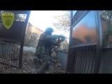 Реальные кадры из зоны АТО: разведка боем
