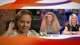 Настя Макаревич, Изольда Ишханишвили и Лена Перова в программе