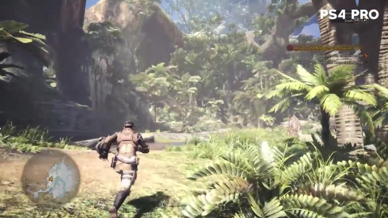 Monster Hunter World PC vs. PS4 Pro Graphics Comparison PC Max vs. Low Settings