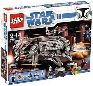 Конструктор Lego Star Wars Шагающий робот AT-TE Walker 7675.