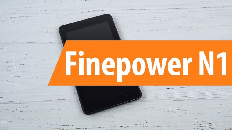 Распаковка Finepower N1 / Unboxing Finepower N1