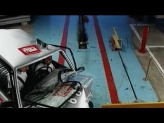 Краш-тест ВАЗ 2114! Скорость 64 км/ч. Общая оценка