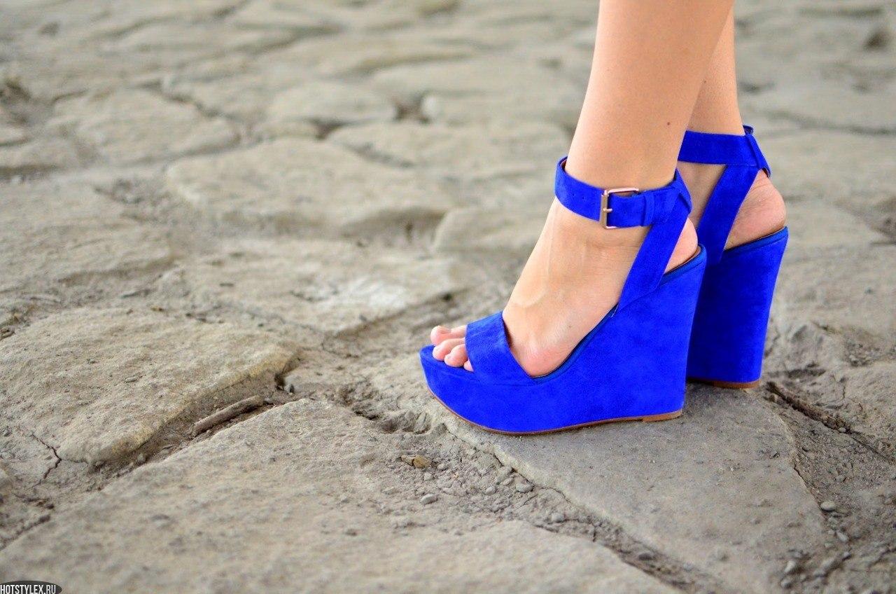 фото синие вещи