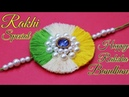 DIY tricolor rakhi Rakhi for kids Anchor Thread Rakhi Rakhi Making Raksha bandhan