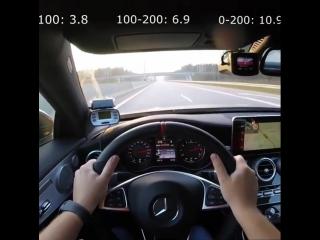 Mercedes C63 AMG Morendi Stage2 acceleration