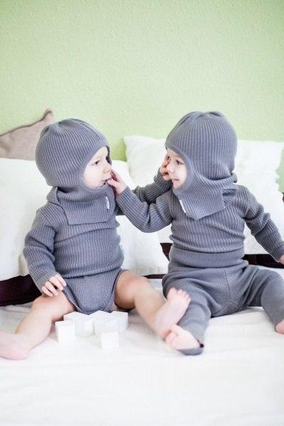 Шапочка-шлем и слингокомбинезон