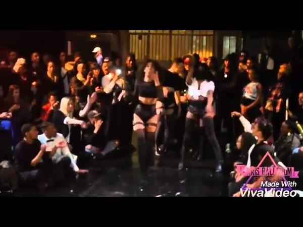 Carmen Kylie Prodigy VS Naugty B Giselle Ladurée ( Tag Team Performance ) at the Murder ball