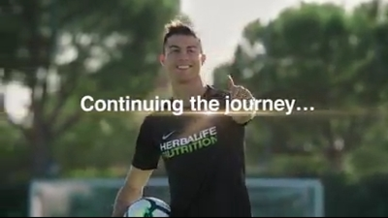 Cristiano Ronaldo : I'm proud to extend my partnership for 3 more years with Herbalife