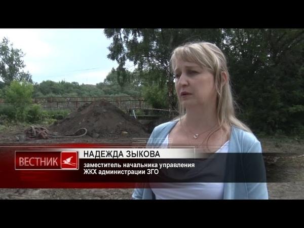 Специалисты приступили к капитальному ремонту водопровода по улице Карла Маркса