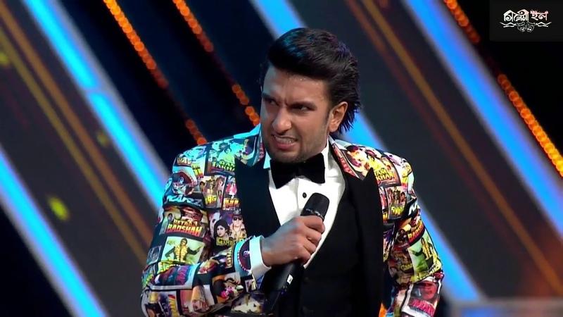 Shahrukh Khan, Manushi Chhillar Ranveer Singh Fun on Jio Filmfare Award 2018