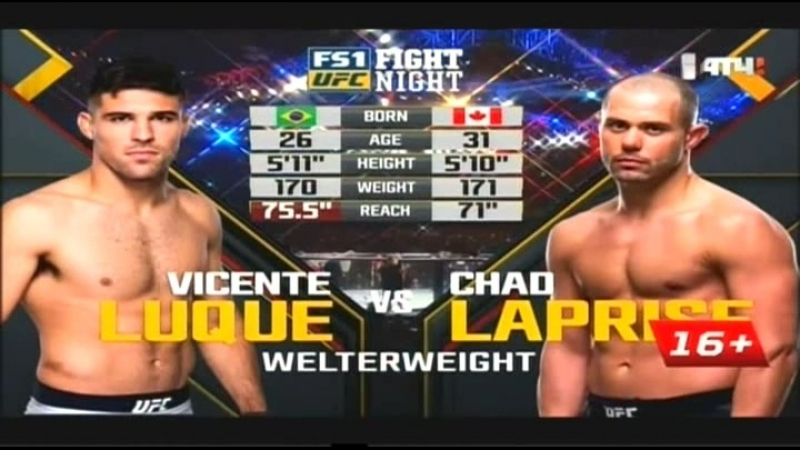 Vicente Luque vs Chad Laprise