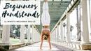 BEGINNERS HANDSTAND PRACTICE | 15-Minute Yoga | CAT MEFFAN