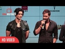 Ajay Devgn Reaction On Woking With Vidyut Jammwal Baadshaho Official Trailer Launch