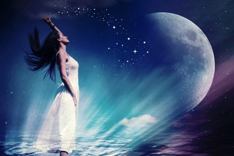 сильная луна