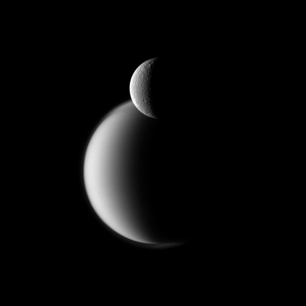 Рея перед Титаном