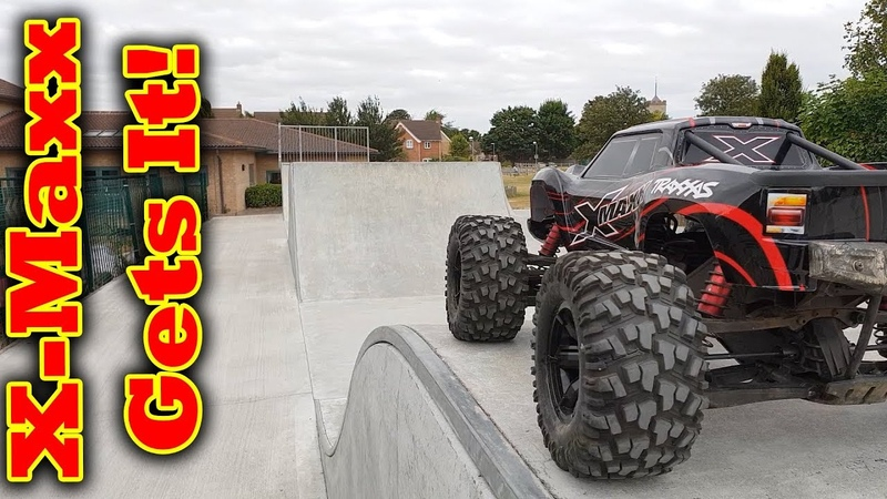 Traxxas X-Maxx is my Favorite RC Car - Epic Bash Session
