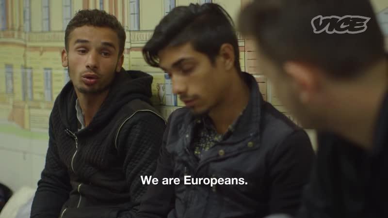 Цыган из Румынии мы европейцы а значит имеем право жить в британских городах