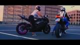 Girls on motorcycles! Suzuki GSX-R 750 &amp YAMAHA R6 #PROCAR #PROMOTO