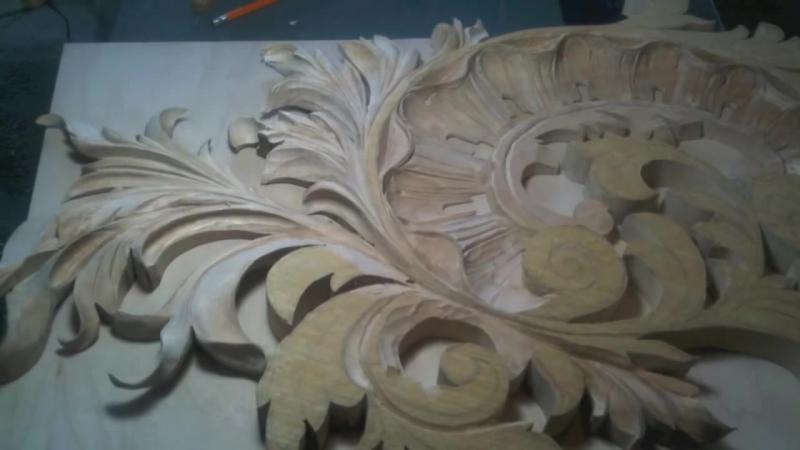 Step by Step Decorative Wood Carving by Master Wood Carver Alexander Grabovetski