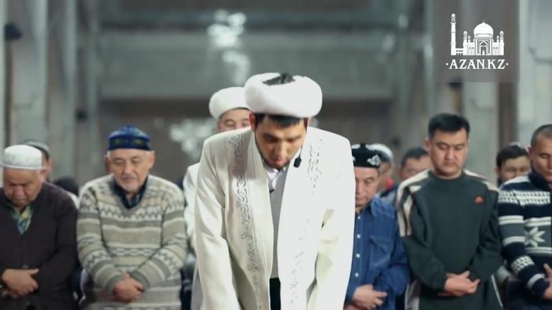 Намаз в Центральной мечети г Алматы.mp4