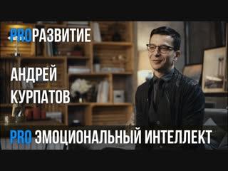 Андрей Курпатов про эмоциональный интеллект PROРАЗВИТИЕ