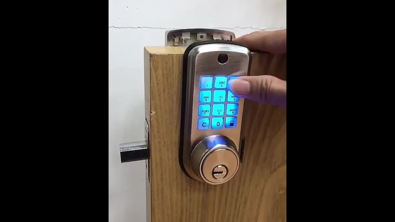 Electronic Entry Deadbolt with Keypad