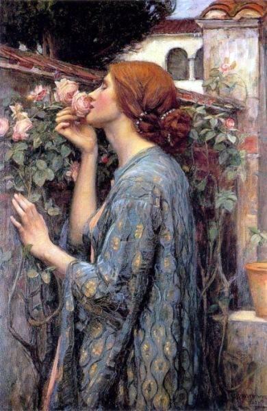 English artist of John William Waterhouse (1849-1917)