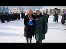 Зэчка подарила Снегурочке куклу Масленицы. Real video