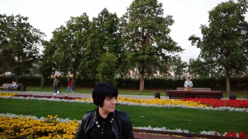 Челябинск. Сквер неподалёку от набережной и театров