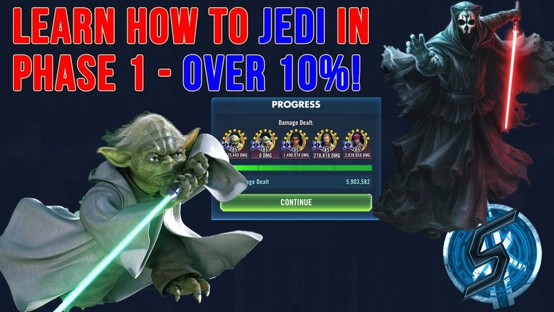 [EN] HEROIC SITH RAID - LEARN THE JEDI WAY AND GET 10% IN PHASE 1