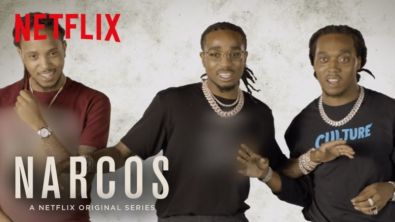 Narcos Mexico Migos Ad libs The Showdown Netflix
